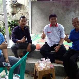 Bersama warga perumahan pabuaran, Bojonggede, Kab. Bogor